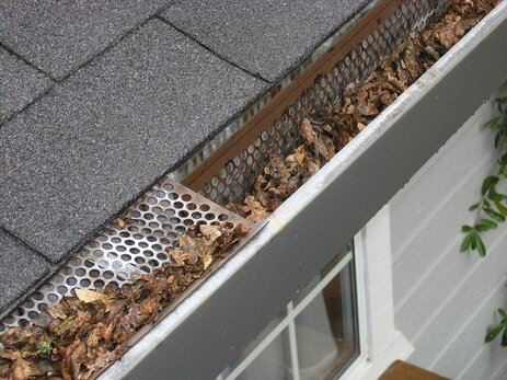 Gutter Guard that has failed